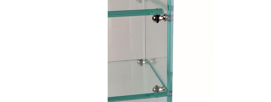 dettaglio supporto per vetro