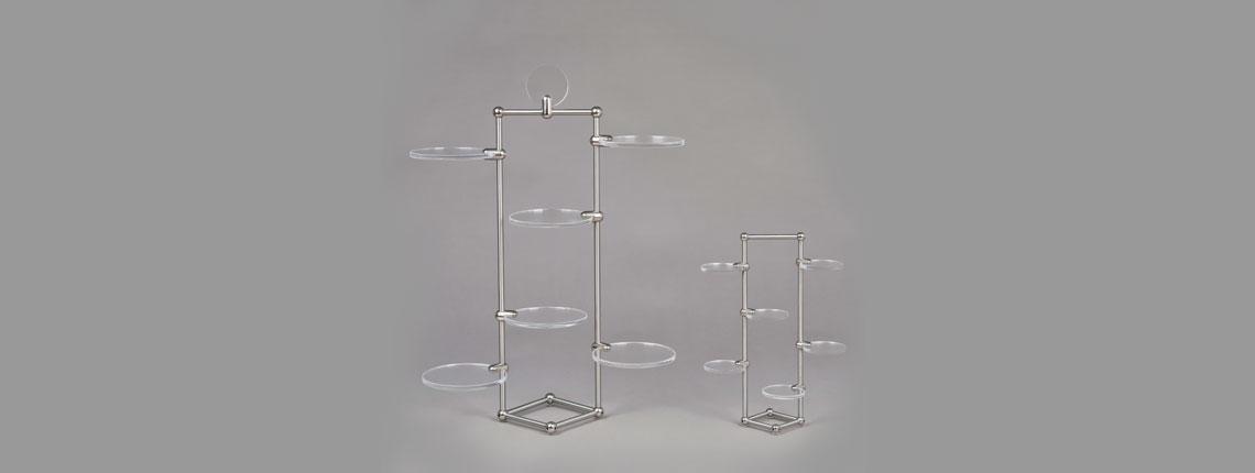 espositori plexiglass per attività commerciali