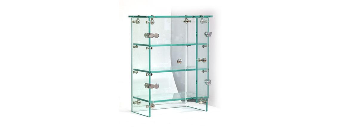 Espositori in vetro